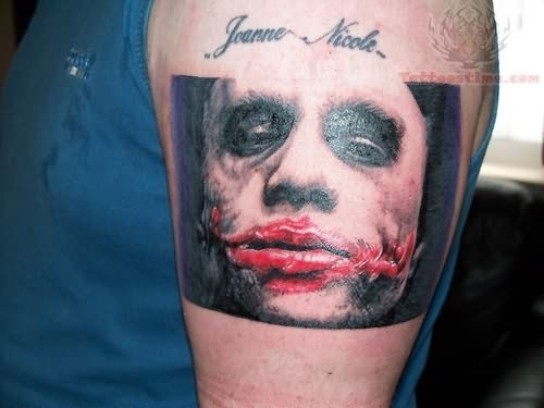 Traditional Styles of Joker Tattoos