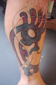 Kokopelli Large Tattoo