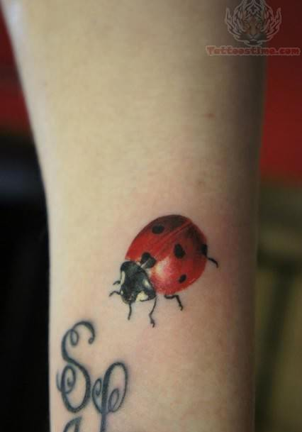 Ladybug Awesome Tattoo
