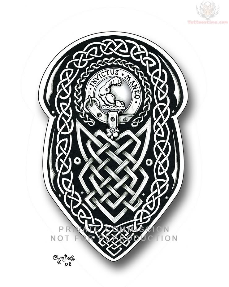 Celtic Taurus Tattoos Celtic Knot Tattoos Sample
