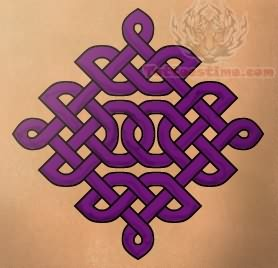 Celtic Purple Tattoo