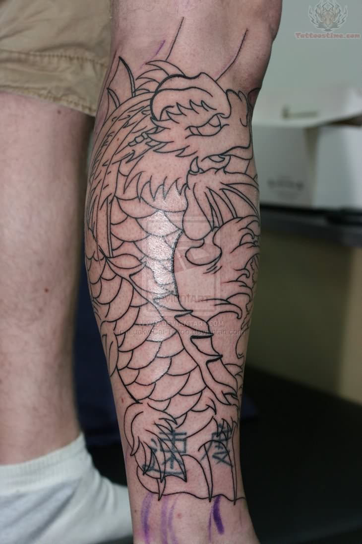 Koi Dragon Tattoo For ArmDragon Koi Fish Tattoo Forearm