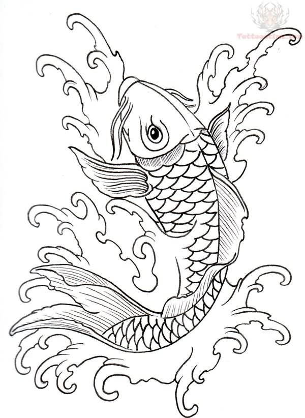Koi Tattoo Images amp Designs
