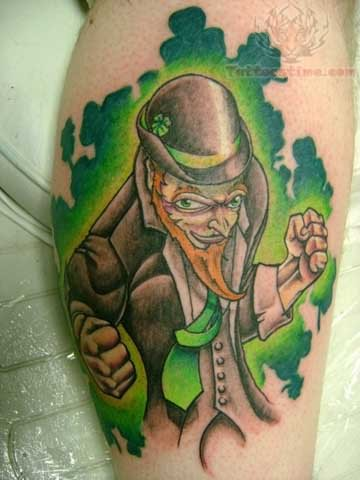Leprechaun Tattoos on Leprechaun Tattoos Pictures And Images   Page 3