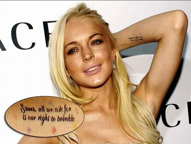 Celebrity Tattoos Pictures and Images : Page 11