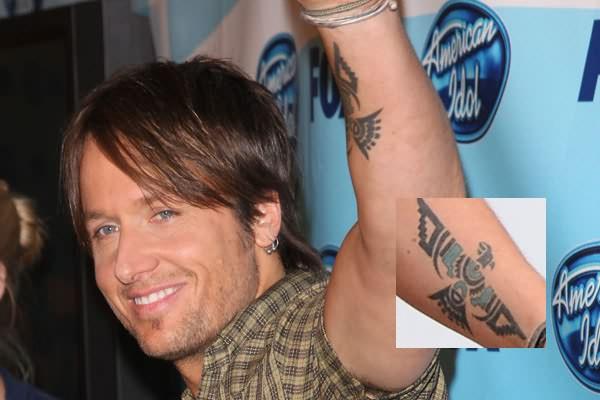 Eagle Tattoo On Celebrity Arm