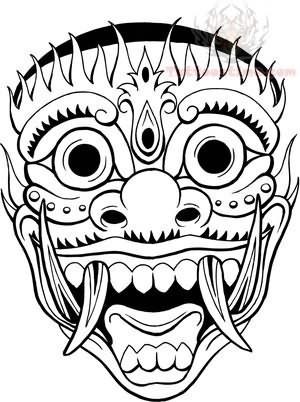 Mask Tattoos Page 11