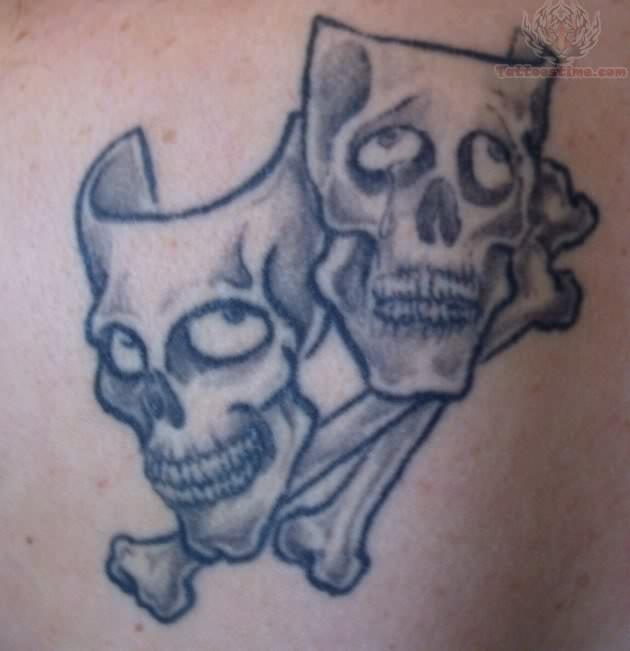 Skull Masks Tattoos