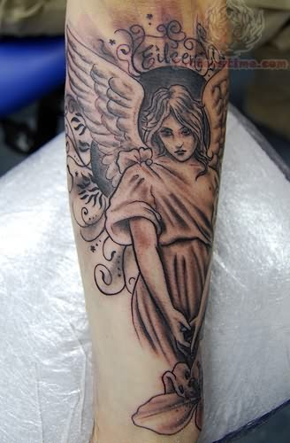 Memorial tattoos page 43 for Angel tattoos in memory of