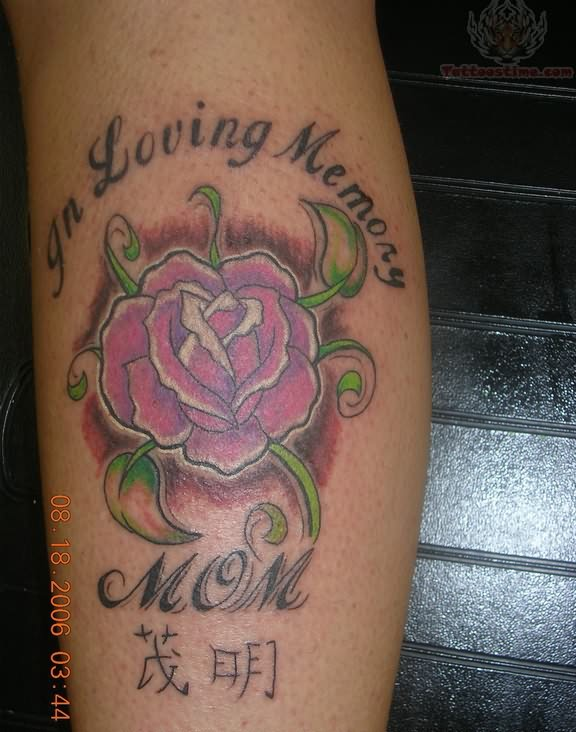 In loving memory of mom for Memory tattoos pictures