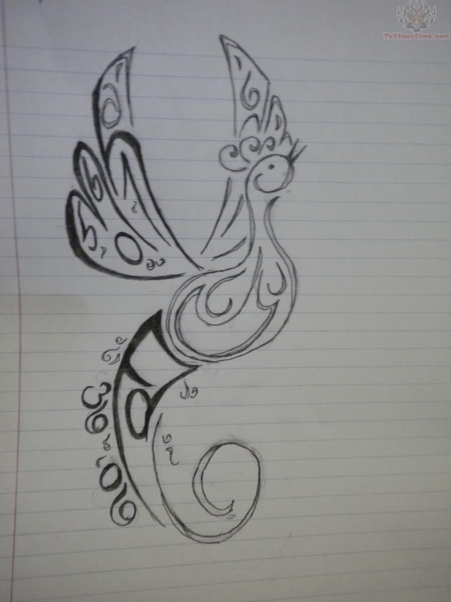 Memorial Tattoo Drawing