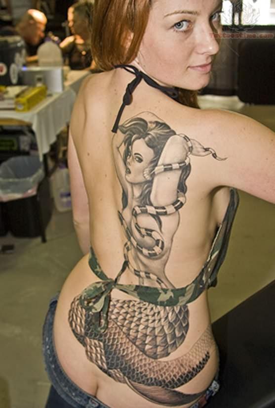 Mermaid Face Tattoo Mermaid Tattoos Remove This