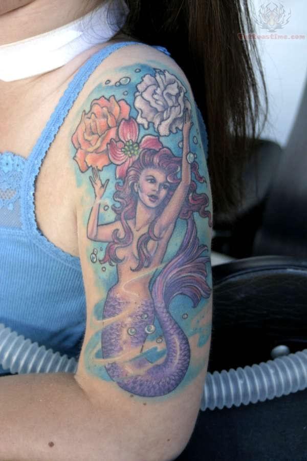 mermaid tattoos page 9. Black Bedroom Furniture Sets. Home Design Ideas