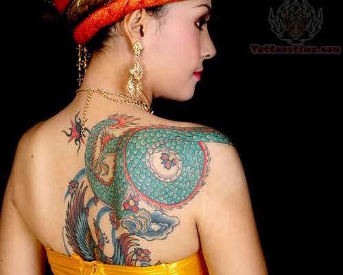 asian tattoos designs for women. Black Bedroom Furniture Sets. Home Design Ideas