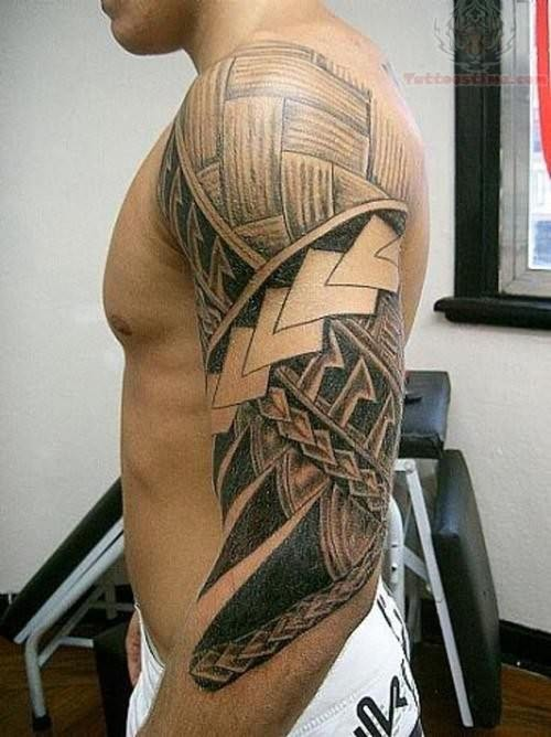 Hawaiian latest design tattoo
