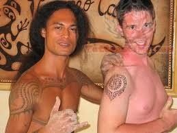 Hawaiian Shoulder Tattoos