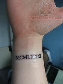 Roman Symbol Tattoo