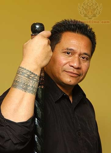 Samoan Wrist Tattoo for Men