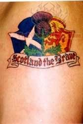Scotland Football Club Tattoo