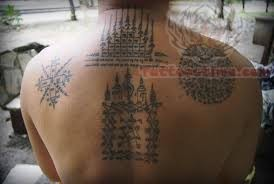 Thai Tattoos On Back Body