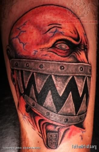 New Style Monster Tattoo