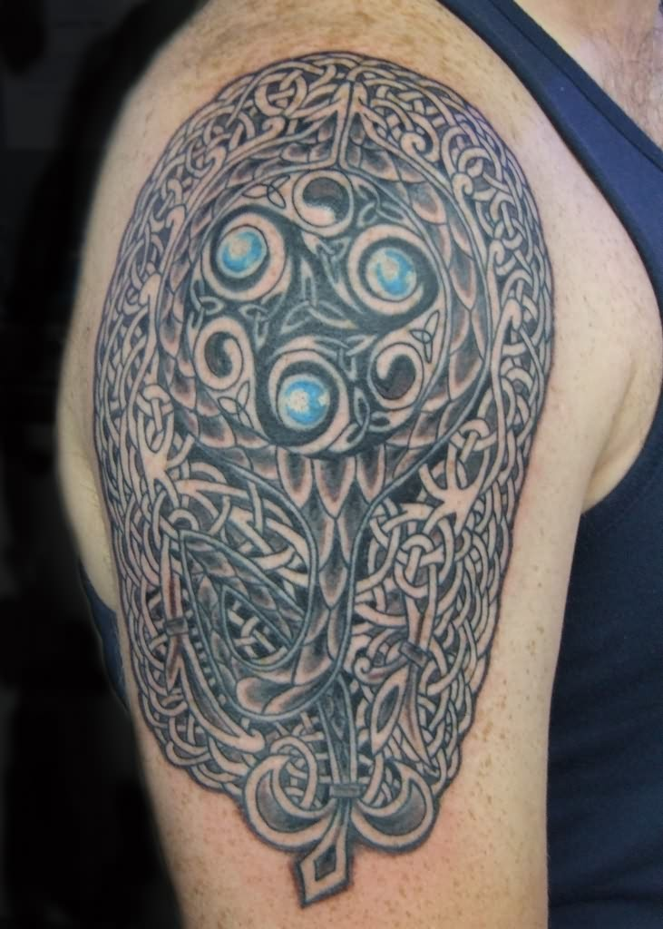 Celtic Triskele Tattoo On Arm - VanuAx.com