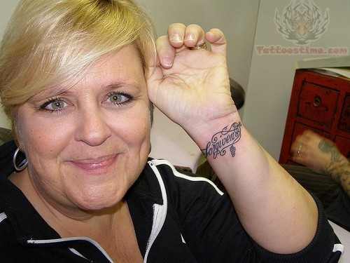Mother Tattoo On Wrist