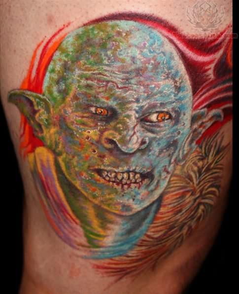 Horror Movie Tattoos Tattoos: Horror Movie Tattoo On Body