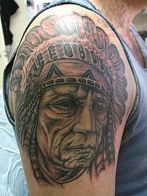 Native american tattoo images designs for Cherokee indian tribal tattoos