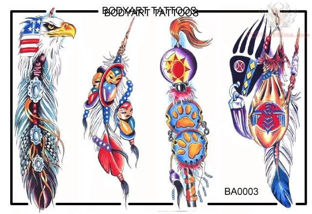 Native american tattoo images designs for Native design