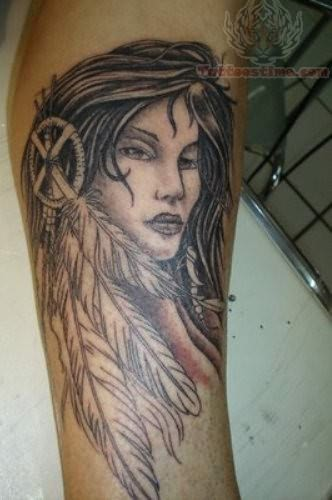Crazy Pictures Ideas: Native American Tattoo