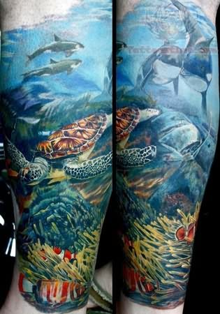 Underwater View Tattoo