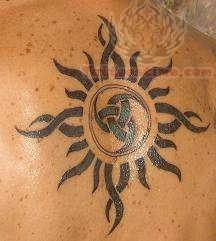 Mark Sun Tattoo