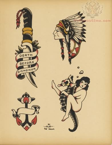 Old school tattoo images amp designs