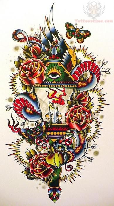 New Old School Tattoo Designs Images amp Pictures Becuo
