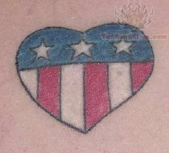 Patriotic Tattoo - Love My Country