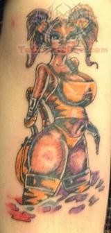 Hot Pinup Tattoo