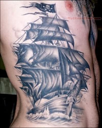 pirate tattoo images designs. Black Bedroom Furniture Sets. Home Design Ideas