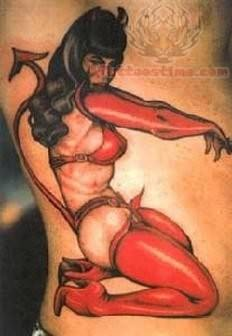 Wicked Pinup Tattoo