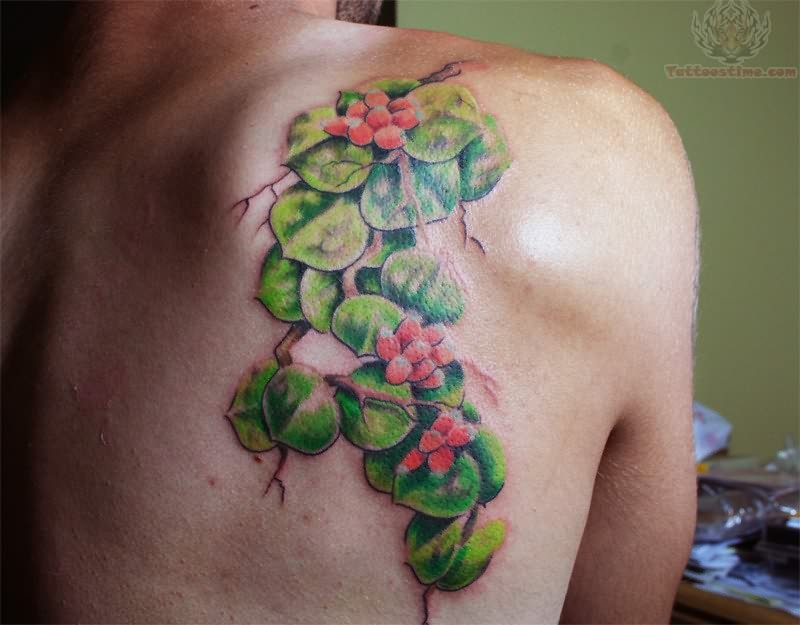 Plants Tattoo Images & Designs