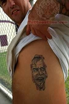 Laughing Stomach Prison Tattoo