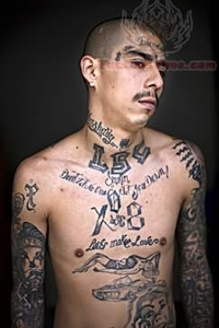 fca669b89070a Mexican Prison Tattoo On Chest