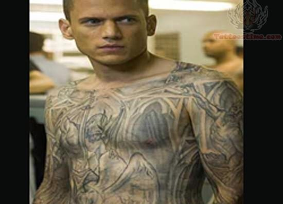The gallery for prison tattoo designs for Prison tattoo pictures