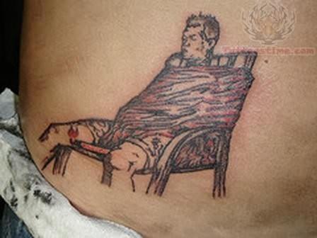 prison tattoo design. Black Bedroom Furniture Sets. Home Design Ideas