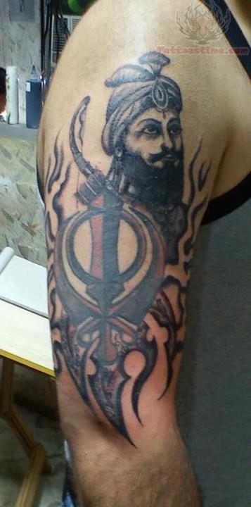 Shri Guru Gobind Singh Ji Tattoo