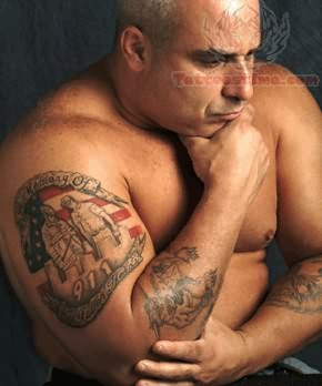 Rememberence Tattoo On Muscles