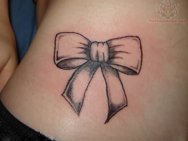 Bow Ribbon Tattoo