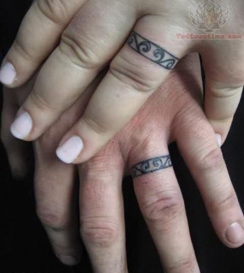 Beautiful Ring Tattoo