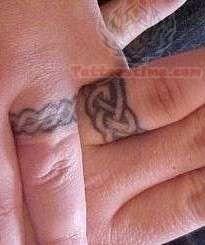 Celtic Wedding Rings Tattoos
