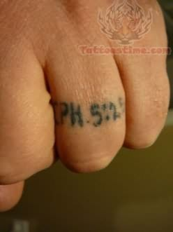 IPH Ring Tattoo